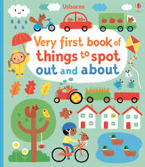Very first books of things to spot